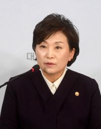 '동네 물 나빠져'... 김현미 장관, 지역구서 부적절한 발언 논란