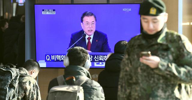 문 대통령, '남북·북미대화, 비관 단계 아냐'