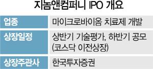 [시그널] 코넥스 3위 '지놈앤컴퍼니' 하반기 코스닥 이전 착수