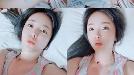 홍진영 '화장 지우니 청순 생얼이?' 잠들기 전 모습마저 섹시해