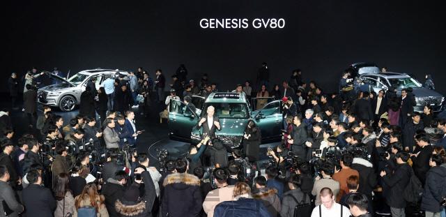 제네시스, GV80에 쏠린 관심