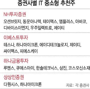 '반도체 낙수효과'...IT중소형株 추천 봇물
