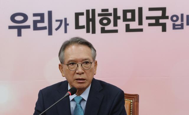 김형오 '한국당 공천..물갈이 국회 모습 보일 것'