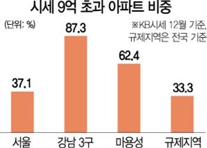 집 가진 죄...서울아파트 37% 전세대출 막혔다