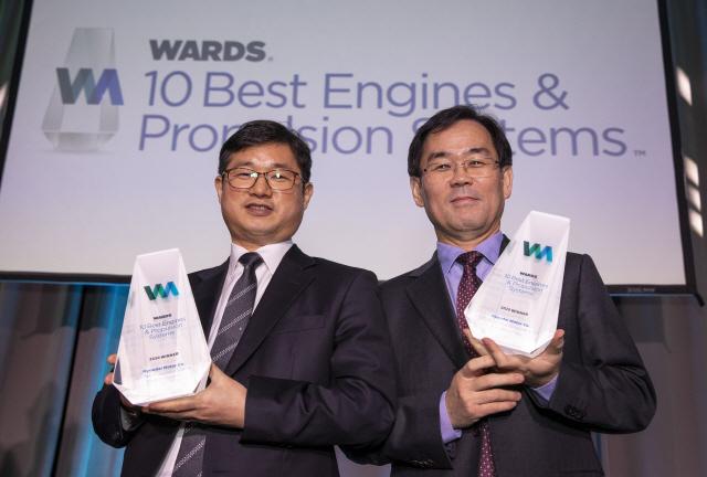 현대차, 2년 연속 美 워즈오토 '최고 10대 엔진'에 파워트레인 2종 동시 수상