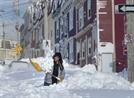 최악 눈폭풍에...캐나다 동부 마비