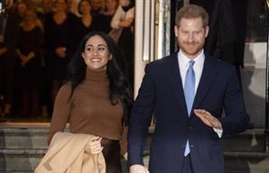 """해리 왕자, 英 왕실 독립 결정에 """"아내 위한 것…평화롭게 살겠다"""""""