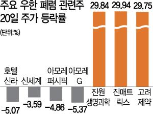 '우한 폐렴'에...잘나가던 중국株 '덜컹'