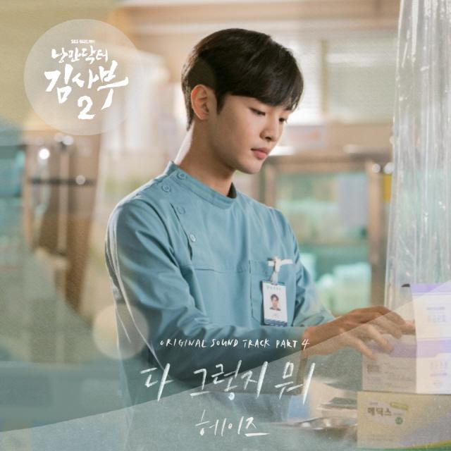 헤이즈, '낭만닥터 김사부2' OST 라인업 합류..오늘(21일) '다 그렇지 뭐' 발매