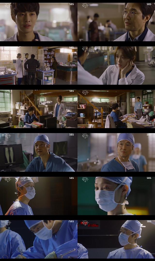 '낭만닥터 김사부2' 한석규·이성경·안효섭, 수술실 동반입장 '新 돌담져스'