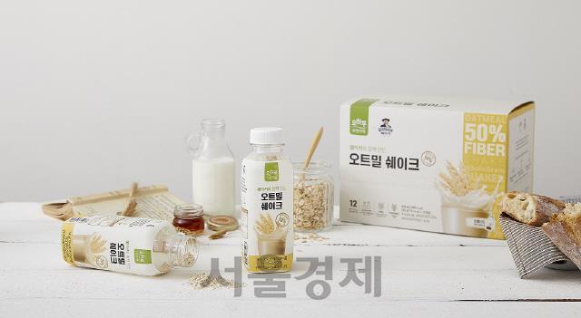 CJ오쇼핑, 간편대용식 '오하루 오트밀 쉐이크' 출시