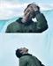 '정해인의 걸어보고서' 정해인, 나이아가라 초근접 전망대 방문 '폭포 샤워'