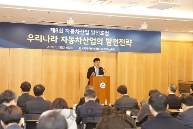 정만기 '52시간제' 작심비판 '車부품사 사장들 감옥갈 판'