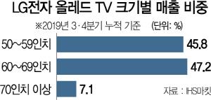 LG전자 '48인치 올레드 TV' 국내선 안 판다