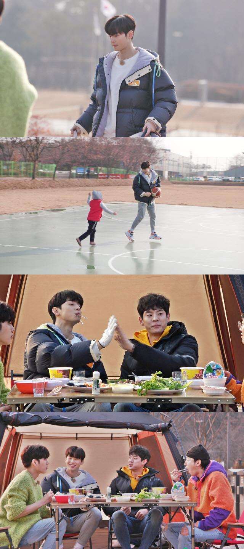 '핸섬타이거즈' 설 특별판, 차은우 '농구 캠핑'서 이상형 공개