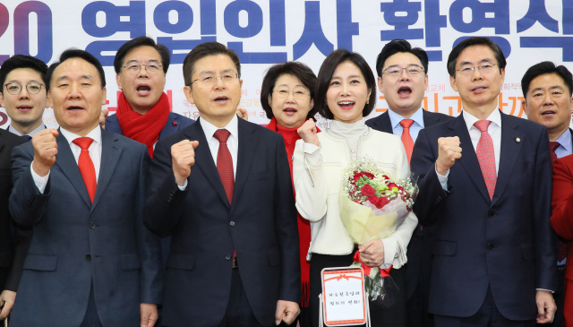 한국당, 이미지 전략 최고봉 허은아 영입