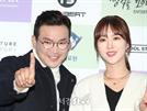 MC 딩동-조승희, 다정하게 포즈