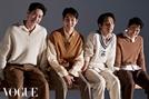 '사냥의 시간' 이제훈·안재홍·최우식·박정민, '보그 코리아' 화보 전격 공개