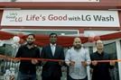 LG전자, 나이지리아에 물·전기 걱정없는 무료 세탁방 열어