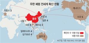 美·佛 전세기로 현지 자국민 송환…기업도 '우한 대피령'