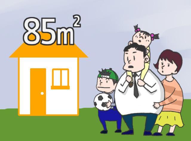 [부동산 TMI] 8 '국민주택규모'가 85㎡인 이유