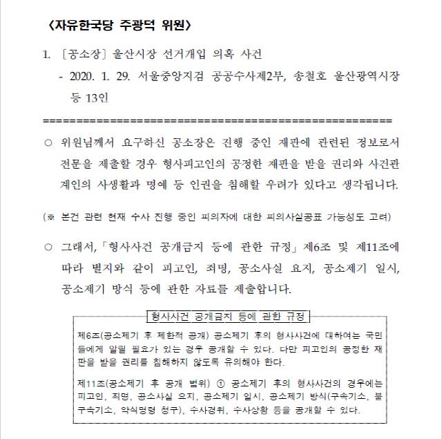 [서초동 야단법석] 추미애 '공소장 비공개' 결단, 인권수호일까 정권방탄일까