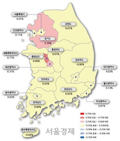 경기지역 풍선효과 확산...수원·용인이어 구리·광명 집값 껑충
