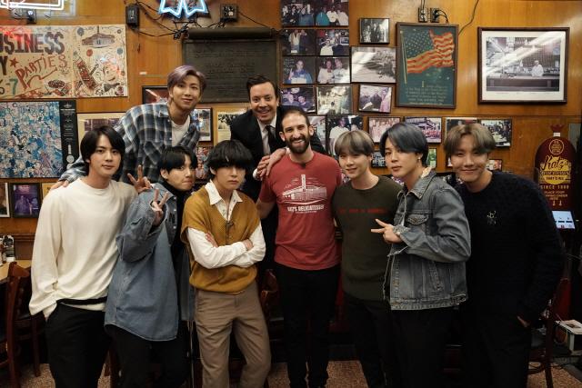 방탄소년단, 美 토크쇼 '지미 팰런쇼' 두 번째 출연..24일 스페셜 방송