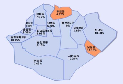 재개발 속도 내는 서울 한남3구역… 표준지공시지가 16.75% 상승