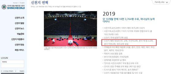 신천지 '중국 우한'에 교회 설립…코로나19 집단 감염 관련성 주목
