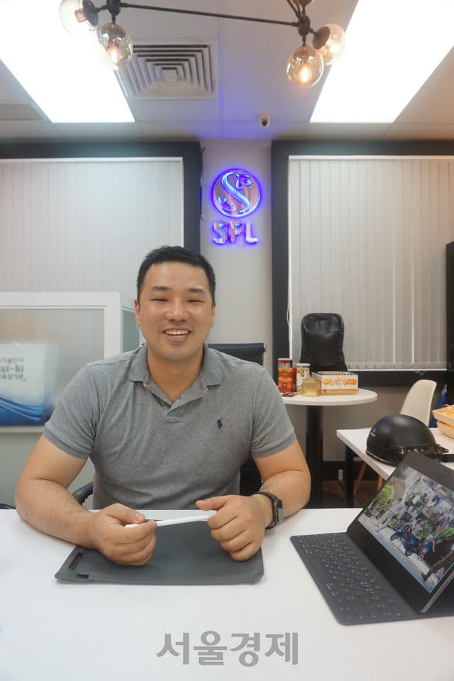 [이사람] 김우석 대표 '스타트업으로 소금같은 삶 살고파…'바이크 천국' 문 두드렸죠'