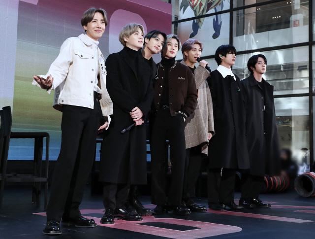 방탄소년단, 美 NBC·MTV 프로그램 출연…전 세계 아미와 뉴욕 점령