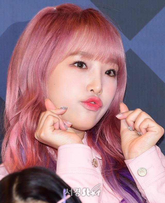 아이즈원 최예나, 하트 (엠카운트다운)