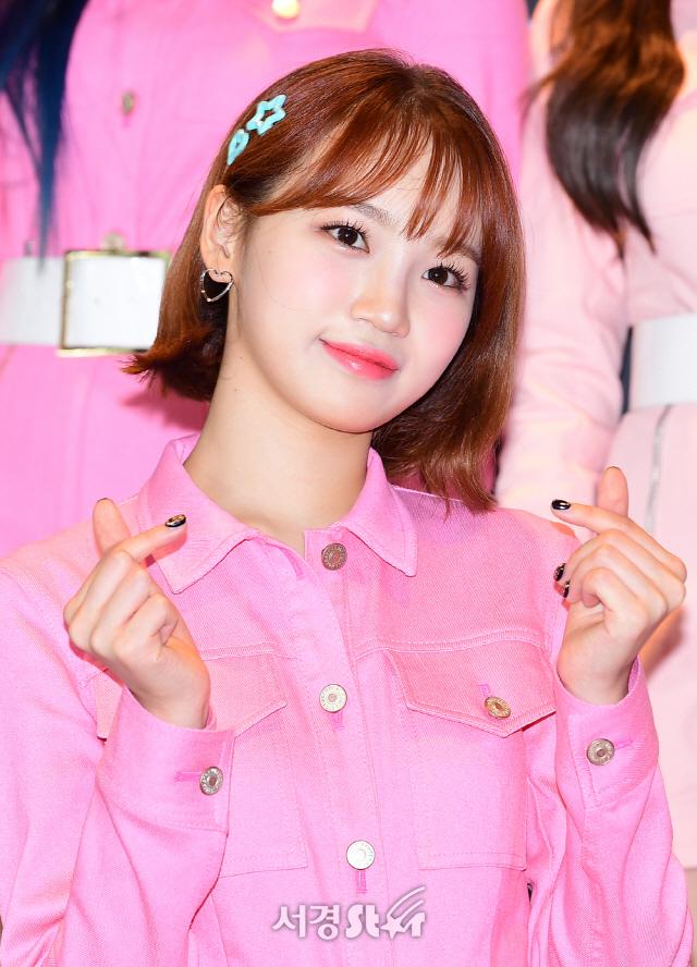 아이즈원 김채원, 레몬 같은 상큼함 (엠카운트다운)