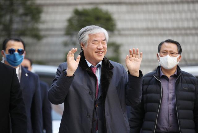 전광훈 목사 '공직선거법 위반' 혐의로 구속