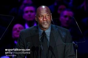 """마이클 조던, 故 코비 브라이언트 추모하며 눈물 """"내 몸 일부 죽은 것 같아"""""""
