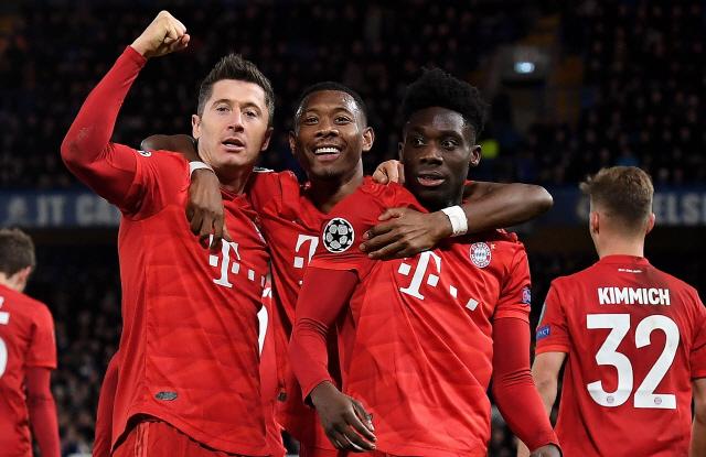 그나브리 멀티골·레비 1골 2도움…뮌헨의 첼시 손목 비틀기