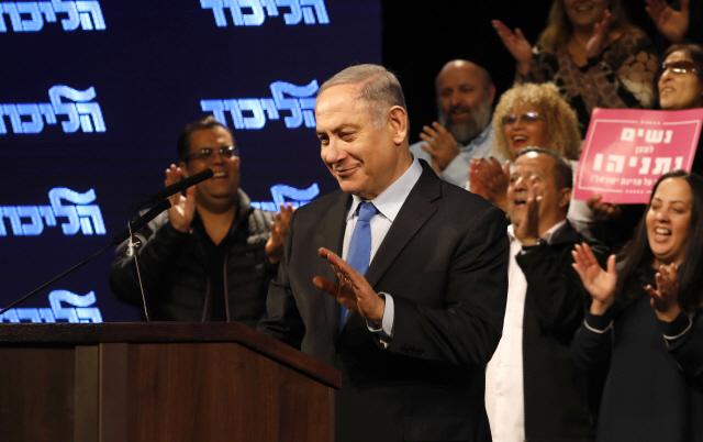 총선 앞둔 이스라엘 네타냐후, 또 '유대인 정착촌 확대' 발언