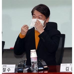 """안철수, 농협몰 직접 들어가보니…""""대기시간 38분, 대기자 2,000명"""""""