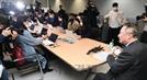 코로나19 관련 긴급 기자회견 하는 박용만 대한상의 회장