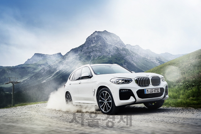 BMW, X3 플러그인하이브리드 출시