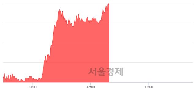 유신풍제약, 상한가 진입.. +29.55% ↑