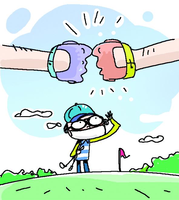 [반갑다, 골프야] 마스크 쓰고 악수 대신 주먹인사...클럽 더 챙겨 캐디 대면도 최소화