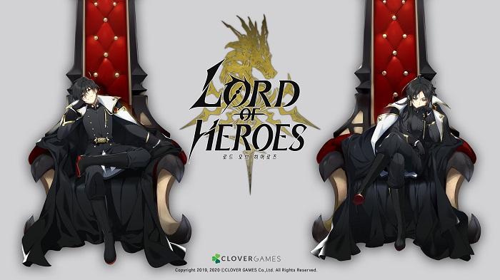 클로버게임즈 첫 게임, 애니메이션 RPG '로드 오브 히어로즈' 출시