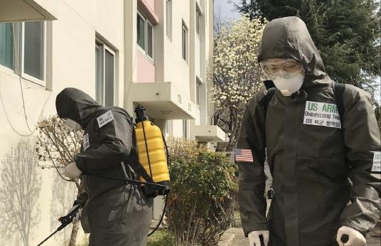 평택 주한미군 기지서 코로나19 확진자 발생