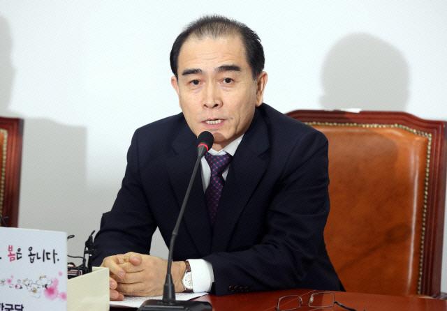 """태구민 """"근거 없는 평화론의 대북정책 수정돼야"""""""