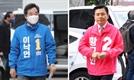 총선 후보 등록 후 첫 주말, 얼굴 알리기 시동…코로나 극복 vs 정권 심판