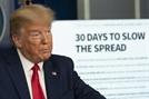 """트럼프 """"매우 고통스러운 2주 될것""""...최대 24만명 사망 예측"""