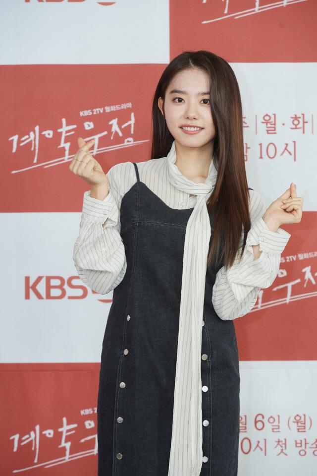 [SE★현장]'계약우정' 김소혜 '웹툰 캐릭터, 연기해보고 싶었어요'