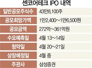 [머니+] 실적 자신감 속 '나홀로' IPO 돌입 센코어테크...FI 투자금 회수 성공할까